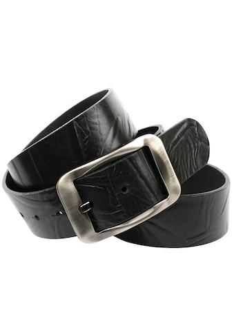 Anthoni Crown Ledergürtel, Denim Jeansgürtel aus pflanzlich gegerbten Vollleder kaufen