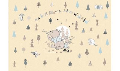 KOMAR Set: Fototapete »Winnie Pooh Best Bear«, Ausgezeichnet lichtbeständig kaufen
