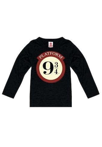 LOGOSHIRT Langarmshirt »Harry Potter«, mit lizenziertem Design kaufen