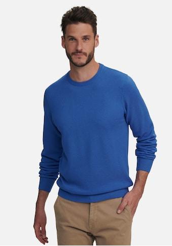 Louis Sayn Strickpullover »Rundhals-Pullover aus 100% Schurwolle«, mit Rundhals kaufen
