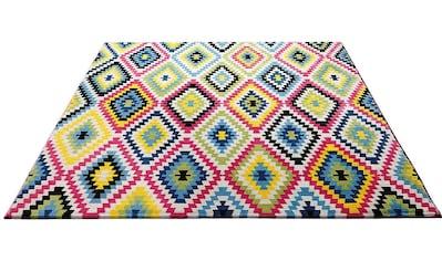 Teppich, »Fresh Kelim«, Wecon home, rechteckig, Höhe 8,5 mm, maschinell gewebt kaufen