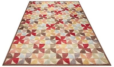 ELLE Decor Teppich »Ailette«, rechteckig, 8 mm Höhe, Hoch-Tief-Struktur, Wohnzimmer kaufen