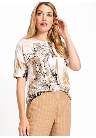 Olsen Rundhalsshirt, mit Safari Print kaufen