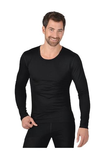 Trigema Rundhalsshirt, aus Merinowolle kaufen