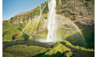Komar Fototapete »Power of Iceland«, mehrfarbig-natürlich-bedruckt kaufen