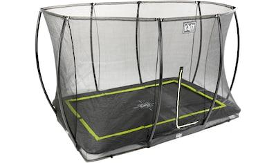 EXIT Gartentrampolin »Silhouette Ground«, BxT: 244x366 cm, mit Sicherheitsnetz kaufen