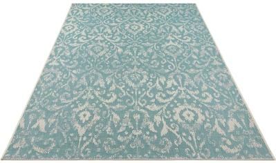 bougari Teppich »Hatta«, rechteckig, 4 mm Höhe, Flachgewebe, In- und Outdoor geeignet, Wohnzimmer kaufen