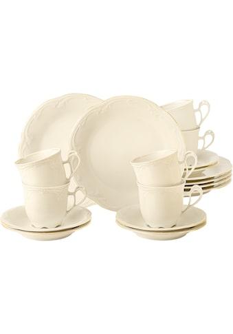 Seltmann Weiden Kaffeeservice »Rubin Goldlinie«, (Set, 18 tlg., 6 x Rubin Kaffeetasse... kaufen