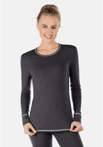 Skiny Langarmshirt mit thermoregulierender Funktion »Active Wool« kaufen