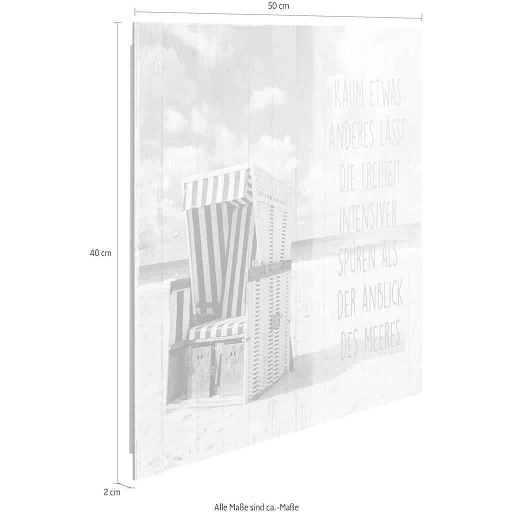 Reinders! Deco-Panel »Freiheit am Strand«