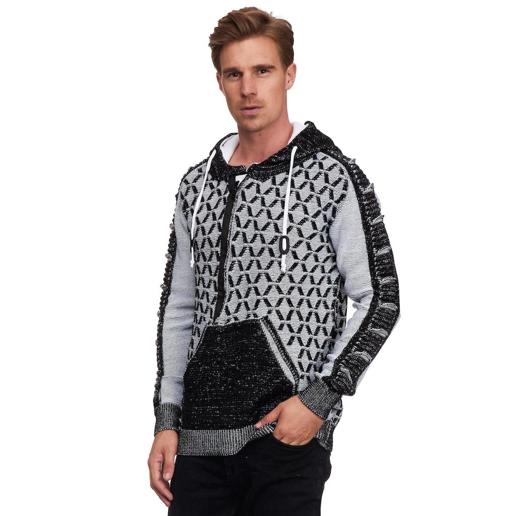Rusty Neal Kapuzensweatshirt, in ausgefallenem Design