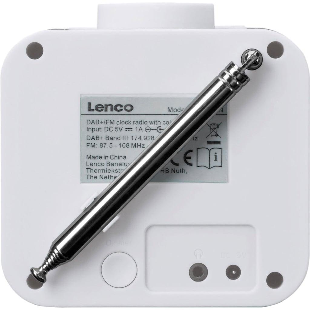 Lenco Radiowecker »CR-620«, ( Digitalradio (DAB+)-FM-Tuner 2 W)