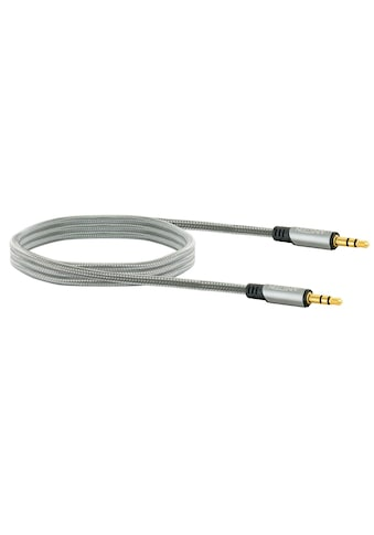 Schwaiger HIFI AUX Audio Klinkenkabel, vergoldetete Stecker »mit Knickschutz« kaufen