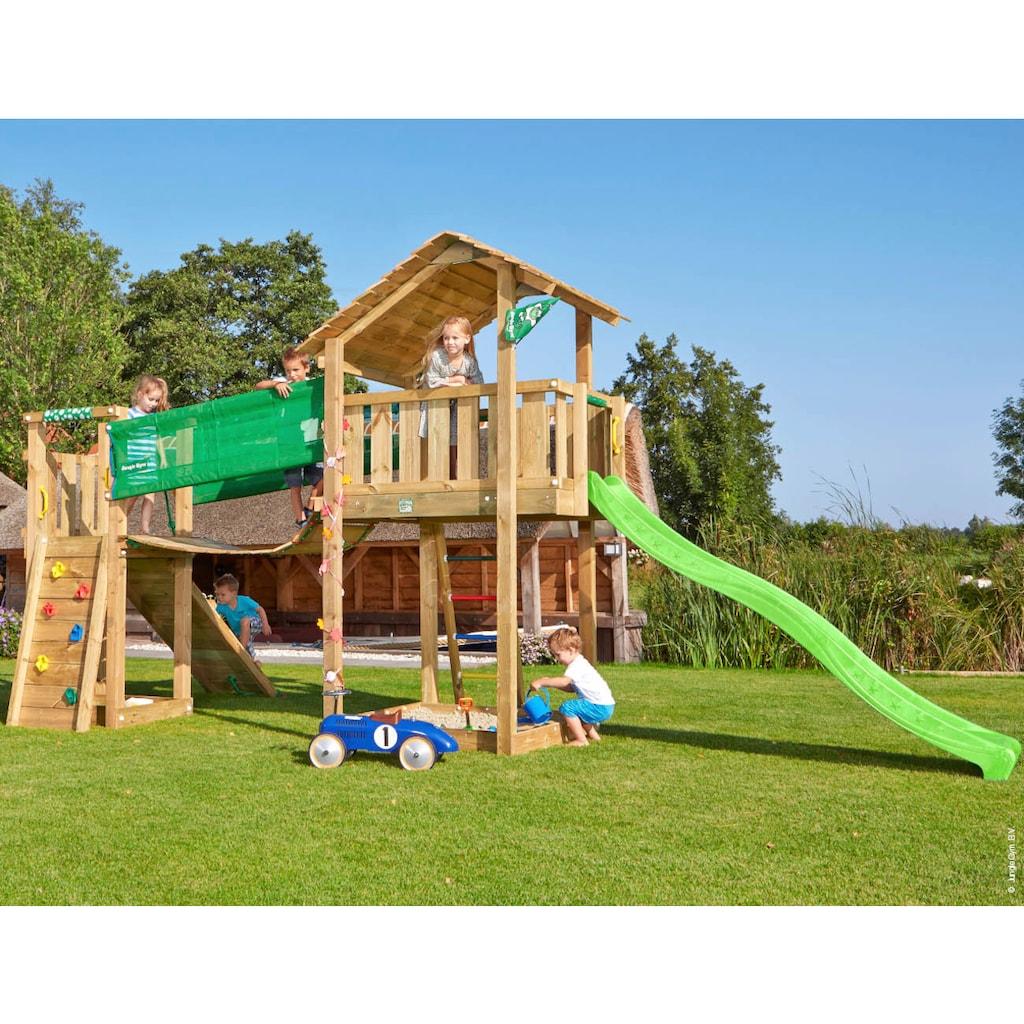 Jungle Gym Spielturm »Jungle Shelter Bridge«, BxTxH: 633x244x290 cm