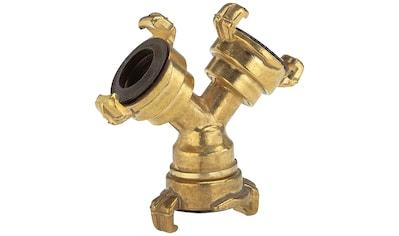 GARDENA Verteiler »07119 - 20«, Messing, von 19 mm (3/4'') -  auf 13 mm (1/2'') kaufen