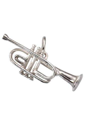 Firetti Kettenanhänger »Trompete, glanzvoll, rhodiniert und massiv« kaufen