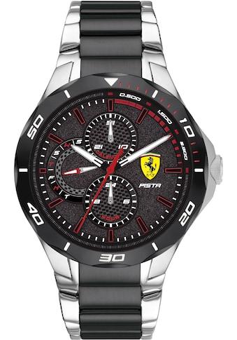 Scuderia Ferrari Multifunktionsuhr »PISTA, 830761« kaufen