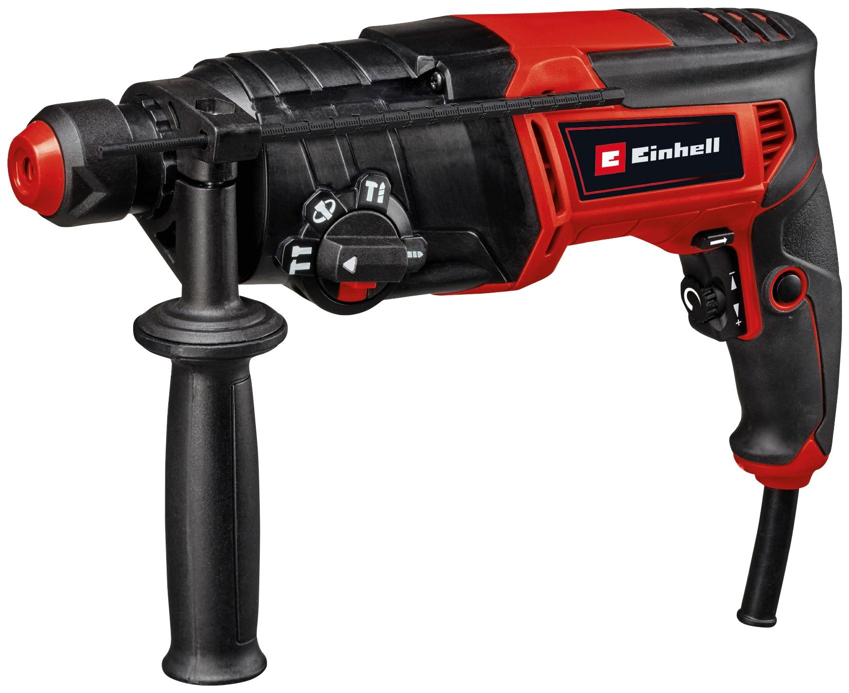 Einhell Bohrhammer TC-RH 800 4F, (2 tlg.) rot Bohrhämmer Werkzeug Maschinen