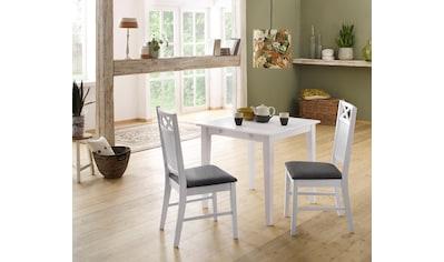 Home affaire Esstisch »Fullerton«, aus massivem Kiefernholz, in drei verschiedenen Größen kaufen