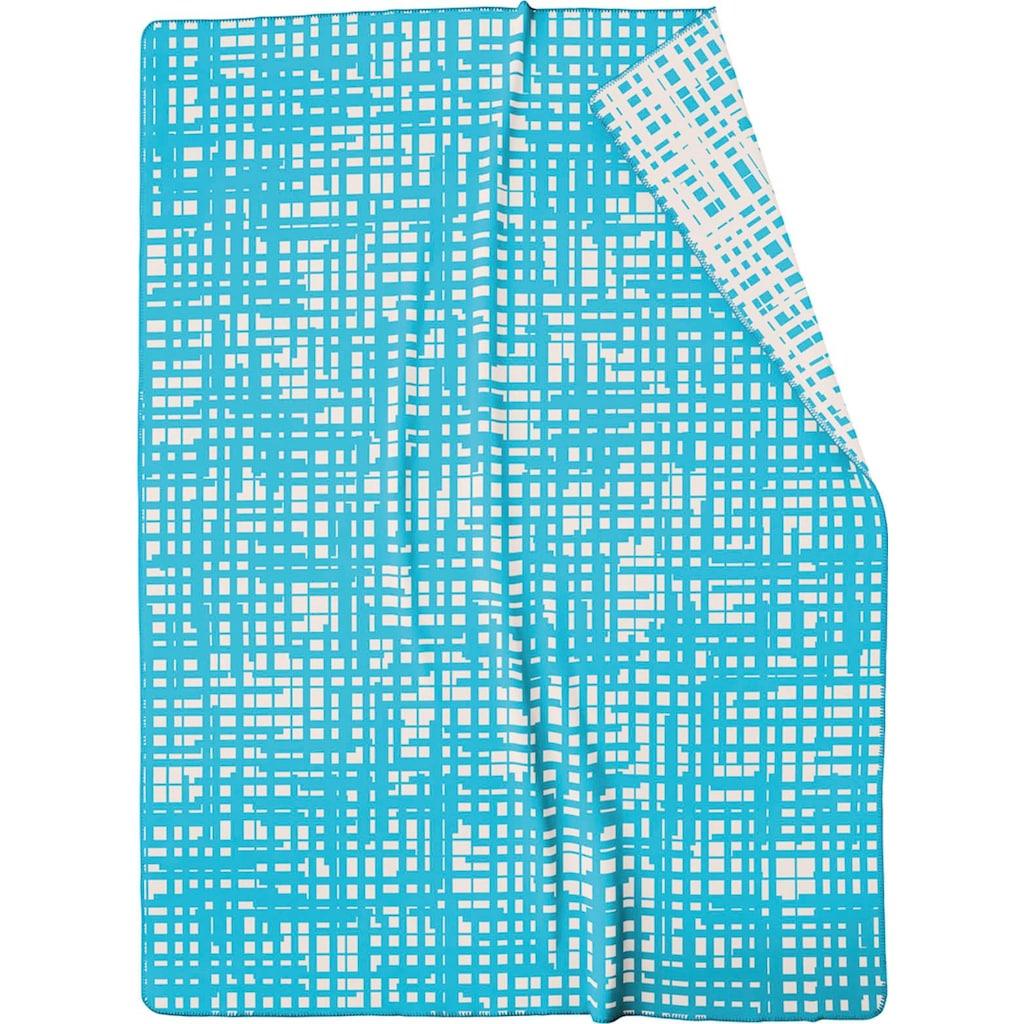 BIEDERLACK Wohndecke »Sketsch«, mit besonderem Muster