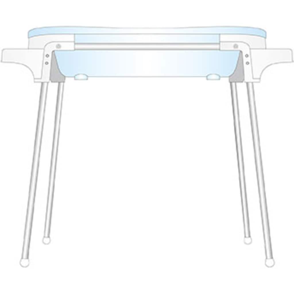 Rotho Babydesign Babywanne »TOP Badestation«, auf dem Boden benutzbar; Made in Germany