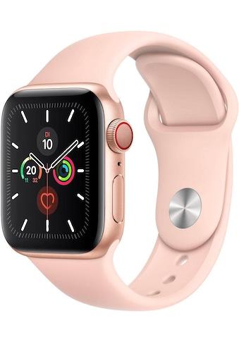 Apple Series 5 GPS + Cellular, Aluminiumgehäuse mit Sportarmband 40mm Watch (Watch OS 6) kaufen