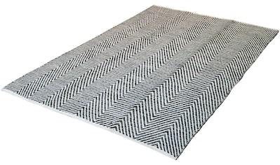calo-deluxe Teppich »Enrear 490«, rechteckig, 7 mm Höhe, reine Baumwolle, Wohnzimmer kaufen