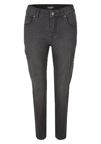 ANGELS Jeans ,Ornella Cargo' mit Reißverschluss - Cargotaschen kaufen
