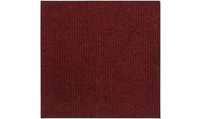 Andiamo Teppichfliese »Rippe Nadelfilz«, quadratisch, 4 mm Höhe, 16 Stück (4 m²), selbstklebend, robust & strapazierfähig kaufen