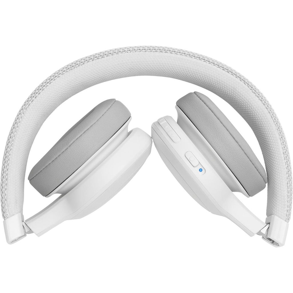 JBL On-Ear-Kopfhörer »LIVE 400 BT«, Bluetooth, Freisprechfunktion-Sprachsteuerung-Multi-Point-Verbindung-kompatibel mit Siri, Google Now