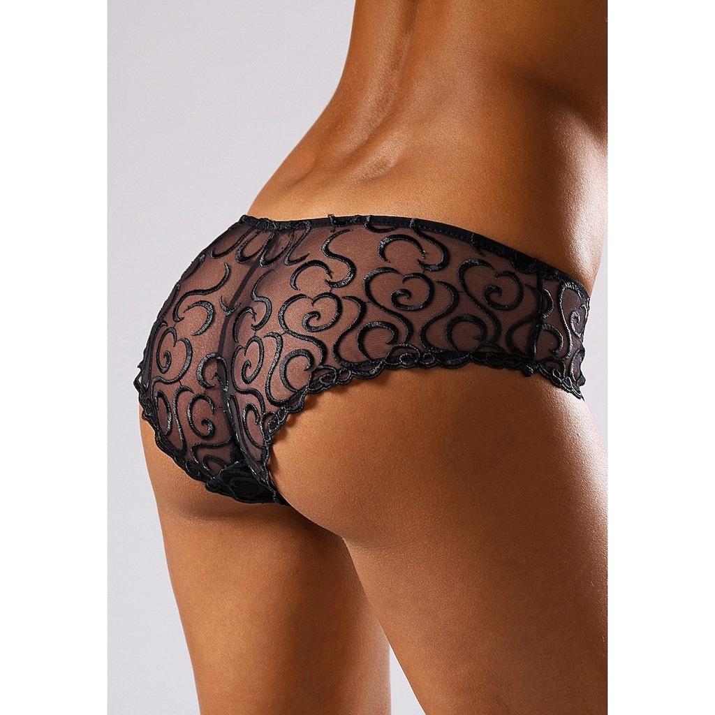 LASCANA Panty, mit aufregender Stickerei