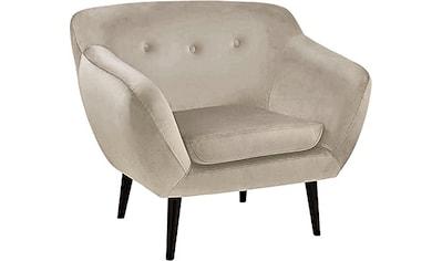 Fink Sessel »AUDRY«, mit Steppung im Rücken kaufen
