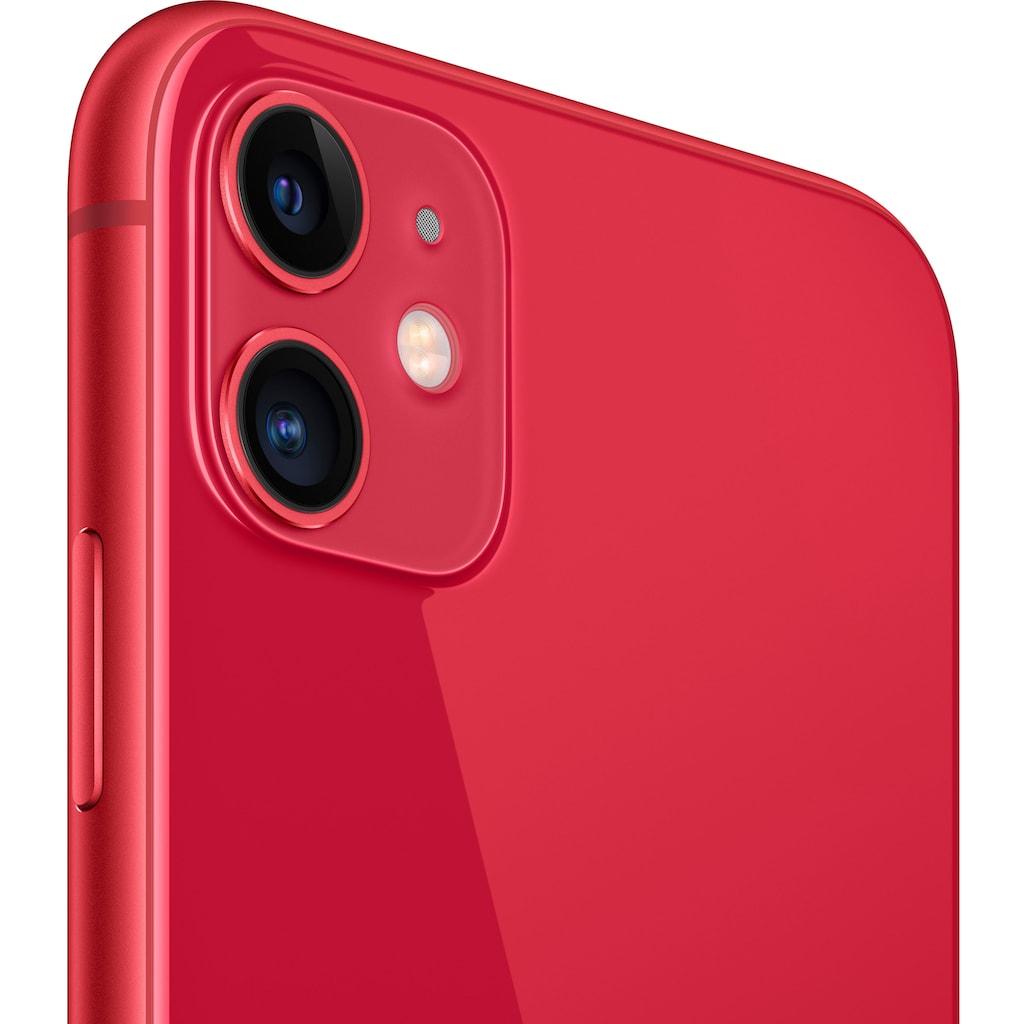 """Apple Smartphone »iPhone 11«, (15,5 cm/6,1 """", 256 GB Speicherplatz, 12 MP Kamera), ohne Strom-Adapter und Kopfhörer"""