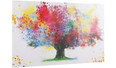 INOSIGN Deco - Panel »Coloured Tree« kaufen