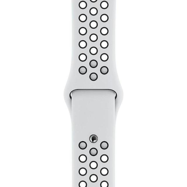 Apple Series 5 Nike GPS + Cellular, Aluminiumgehäuse mit Nike Sportarmband 40mm Watch (Watch OS 6)