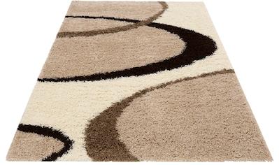 my home Hochflor-Teppich »Ankara«, rechteckig, 52 mm Höhe, weicher Flor, Wohnzimmer kaufen