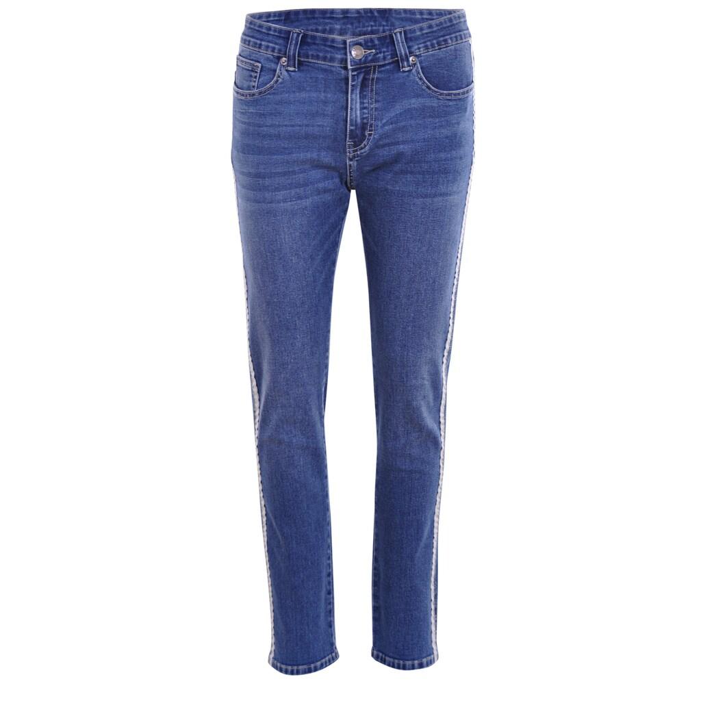 NAVIGAZIONE 5-Pocket-Jeans, mit Galonstreifen