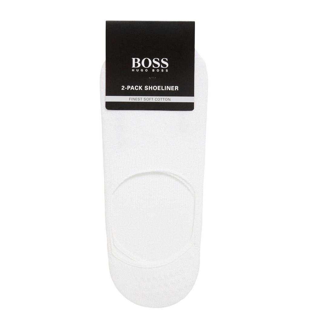 Boss Füßlinge »2P SL Uni CC«, (2 Paar), mit Silikon an den Ferseninnenseiten