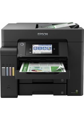Epson Multifunktionsdrucker »EcoTank ET-5800« kaufen