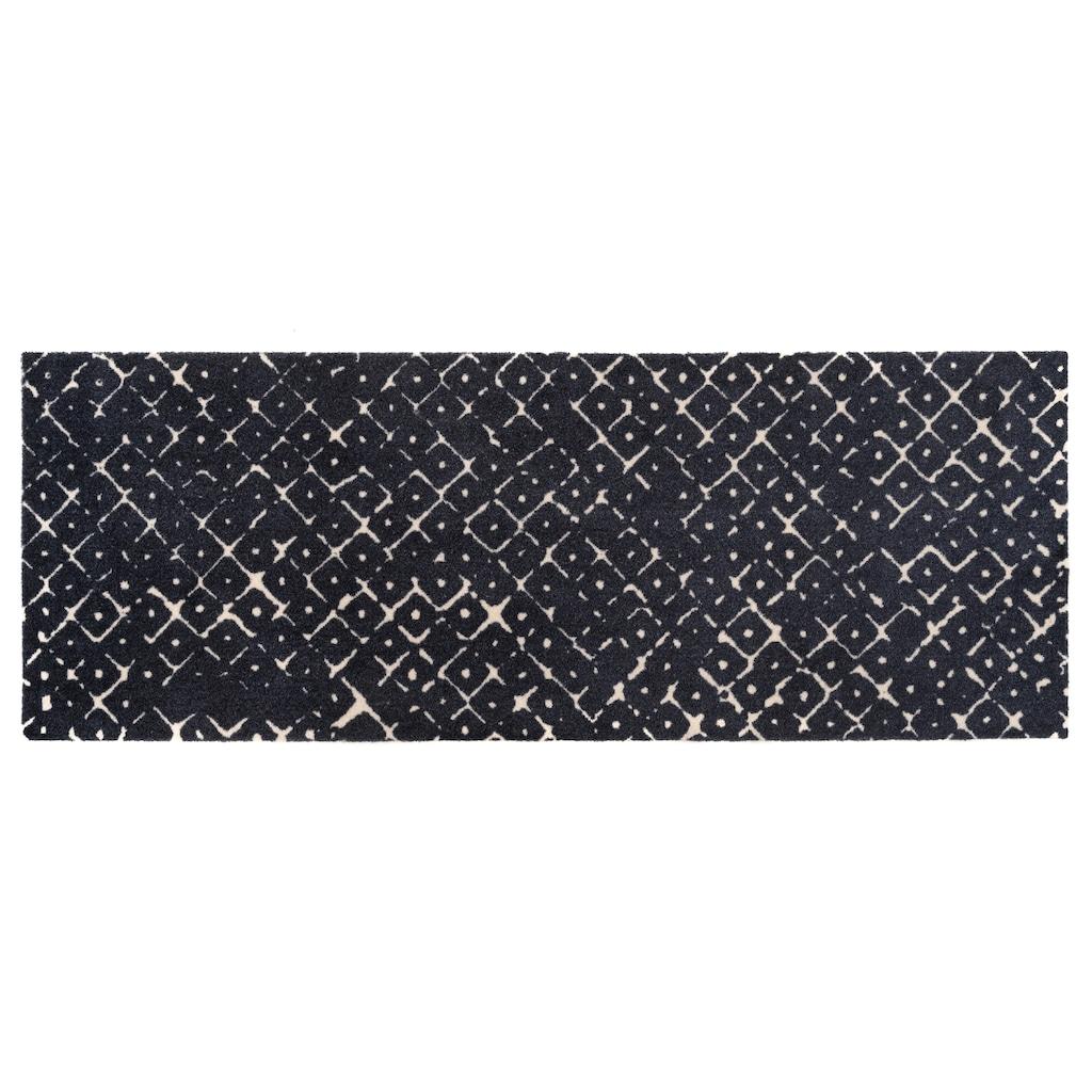 ELLE Decor Läufer »Carre«, rechteckig, 7 mm Höhe, waschbarer Teppichläufer, rutschhemmend