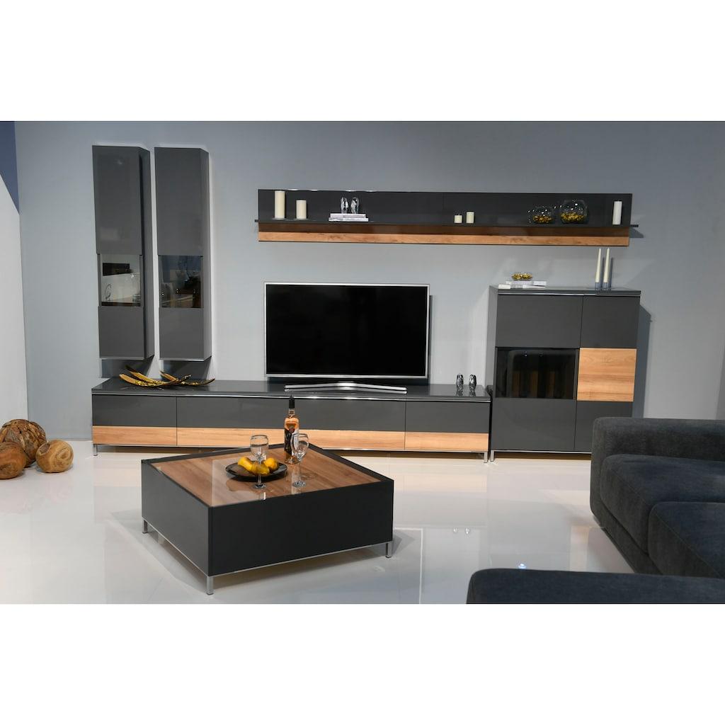 Places of Style Hängevitrine »Onyx«, mit Soft-Close-Funktion, wahlweise mit oder ohne Glaseinsatz