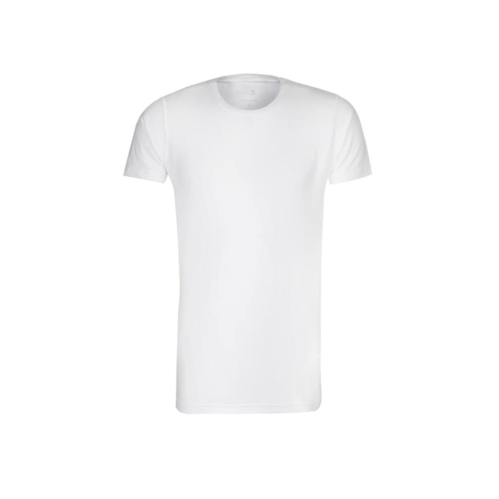 seidensticker T-Shirt »Schwarze Rose«, Kurzarm Rundhals Uni
