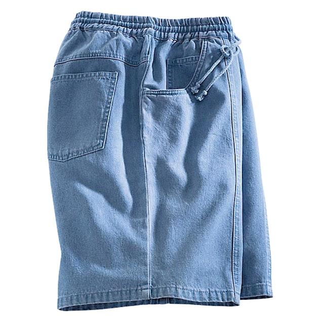 Classic Schlupfbermudas in Jeans-Qualität