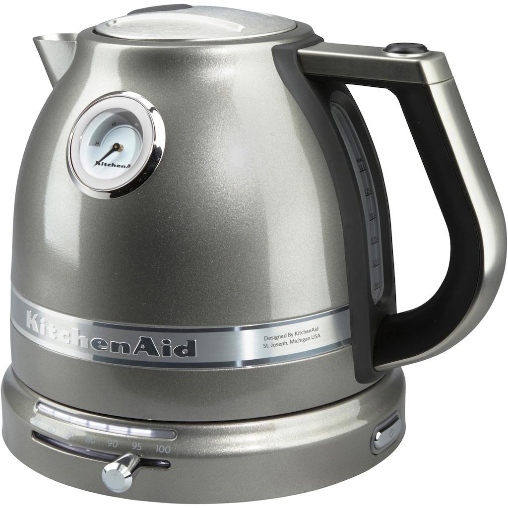 KitchenAid Wasserkocher »5KEK1522EMS«, 1,5 l, 2400 W