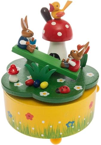 """Spieluhr """"Osterhasenszene"""" kaufen"""