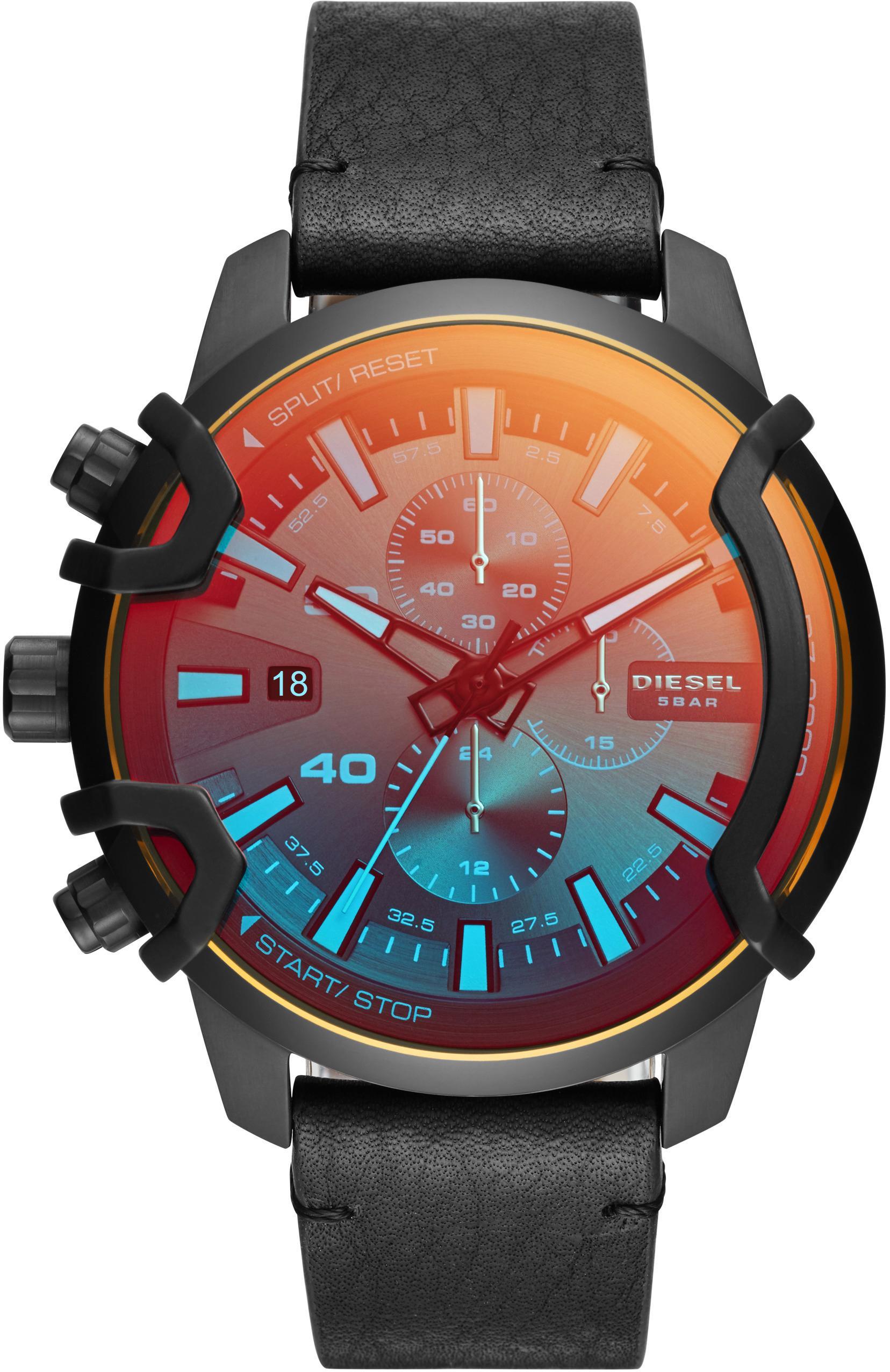 Diesel Chronograph GRIFFED DZ4519 | Uhren > Chronographen | Schwarz | Diesel