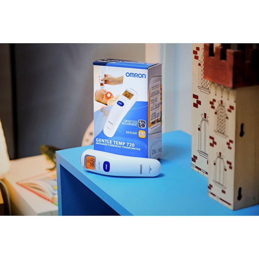 Omron Infrarot-Fieberthermometer »Gentle Temp 720«, berührungslose Fiebermessung - sogar im Schlaf