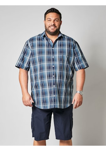 Men Plus by HAPPYsize Kurzarmhemd mit Karomuster kaufen
