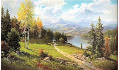 Home affaire Wandbild »MAX WEBER / Vorgebirge«, 108/68 cm kaufen