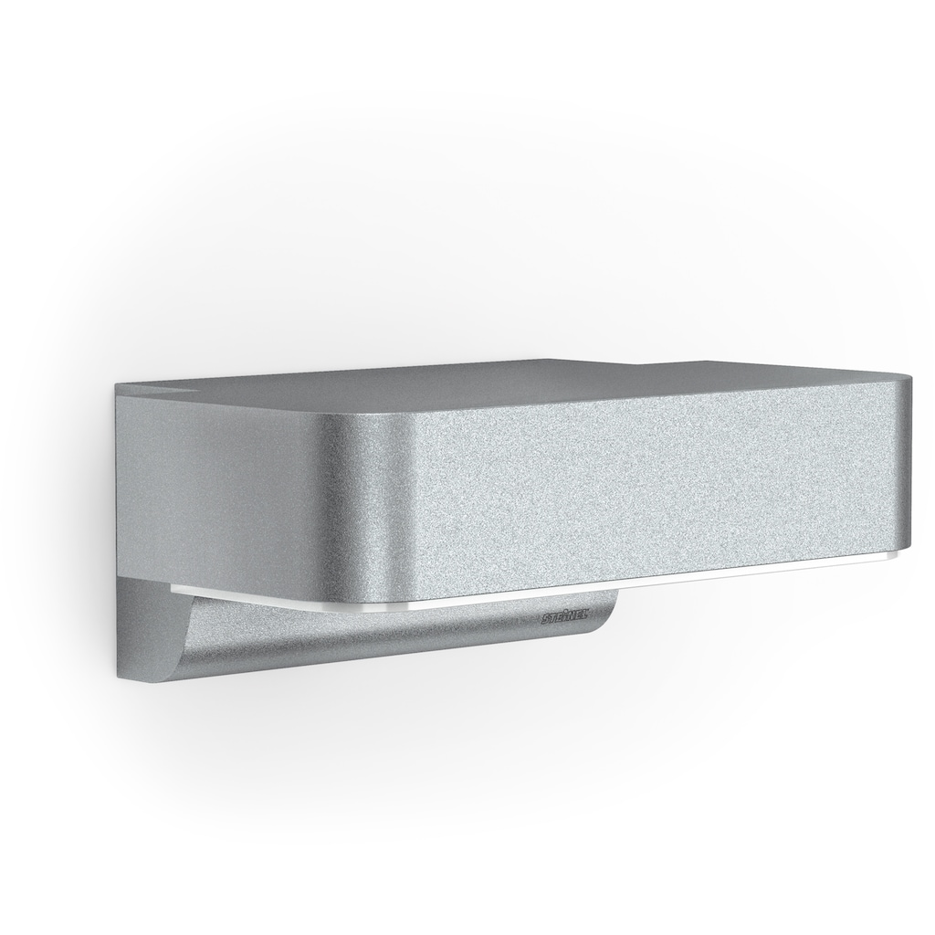 steinel Außen-Wandleuchte »L 800 LED iHF«, LED-Board, 1 St., Warmweiß, 160° Erfassungsbereich, max. 5 m Reichweite, Zeiteinstellung von 5 Sek. - 15 Min., Grundlichtfunktion, 4h Dauerlicht, Softlichtstart, regenwassergeschützt, Gehäuse aus Aluminium